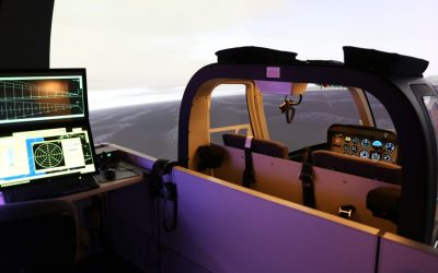FAA certifies Bell 407 flight training device at Helicopter Flight Training Center